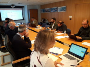 Quinta reunión comité directivo